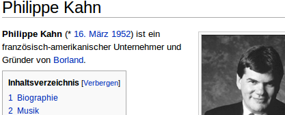 Philippe Kahn - Wikipedia (de)